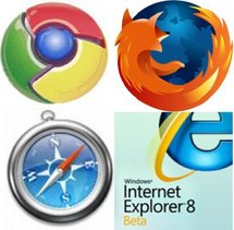 Firefox, Chrome, Safari et Internet Explorer : quatre stratégies