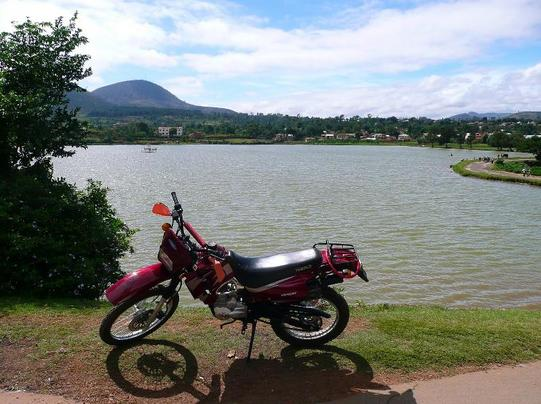 Ma moto de Mada
