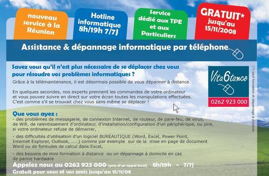 Vita6tance : un nouveau service innovant à la Réunion