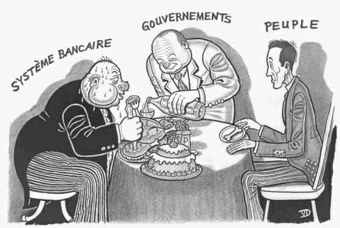 Grands responsables de la crise : les banques. Grands bénéficiaires de la crise...les banques !