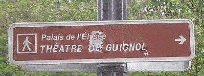 Un panneau de direction explicite !