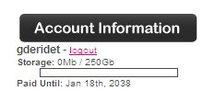 250 Go de stockage en ligne, gratuit pendant 30 ans !