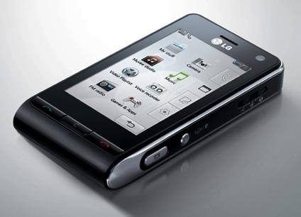 LG Viewty : un ordiphone doté d'un excellent rapport qualité/prix !