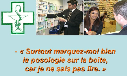 Le bêtisier des pharmacies