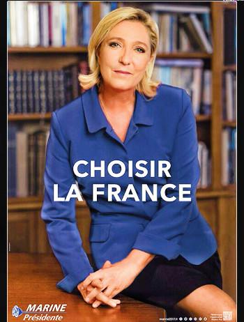 Marine Le Pen : je ris de la voir si belle en ce miroir !