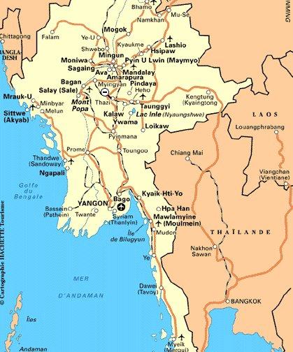 La frontière birmane ferme à l'heure du thé !