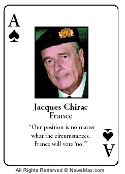 Chirac : un visionnaire...qui se trompe tout le temps !