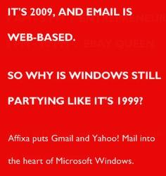 Pour mettre fin au monopole de Microsoft sur le courrier électronique !