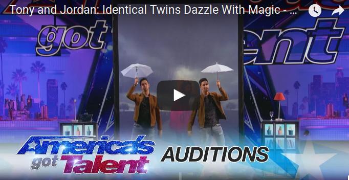 Tony et Jordan : deux magiciens français qui ont étonné l'Amérique