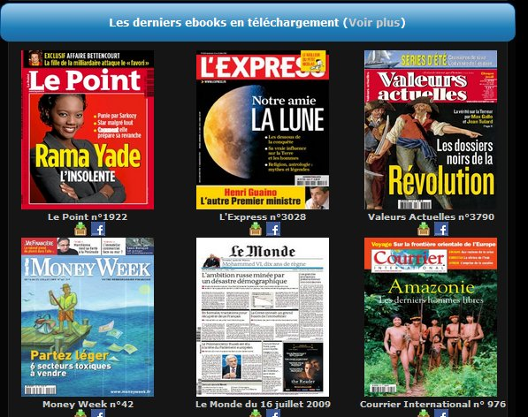 Toutes vos revues au format électronique et gratuites (bis)