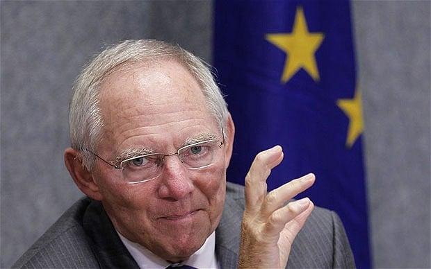 Le ministre des finances allemand. Cet homme est dangereux !