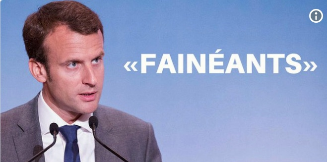 Quand le président insulte les Français
