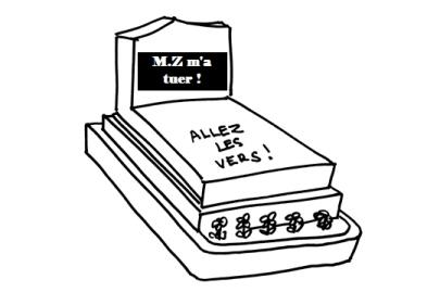 """"""" M.Z m'a tuer. Je vais twitter ailleurs ! """""""