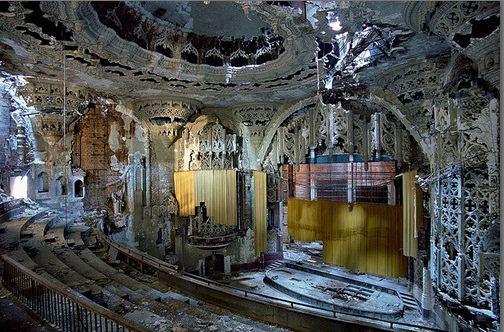 Les ruines de Detroit