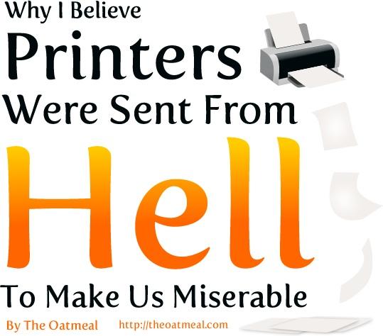 """Un diaporama pour les geeks : """" F. printers ! """""""