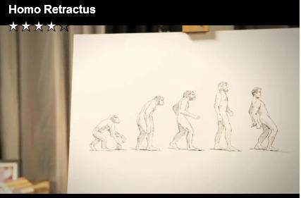 Homo retractus !