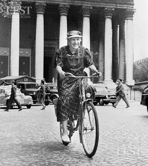 A 86 ans Paris Nancy (385 km)  à vélo !!! Et quel vélo ! Et quelles chaussures !