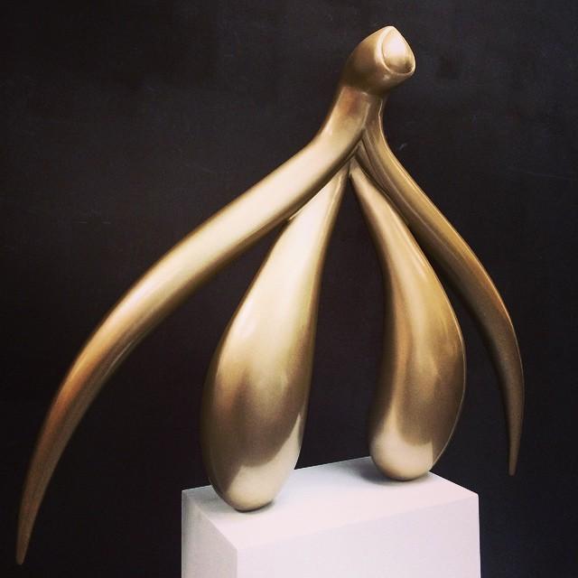 Ceci est un clitoris ! Sculpture géante par Sophia Wallace