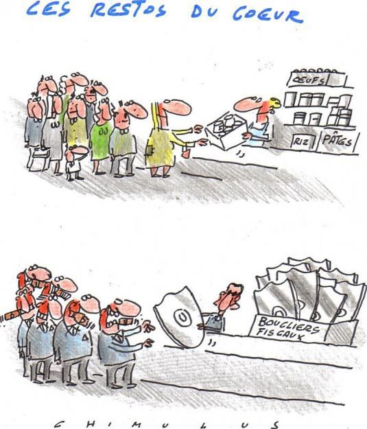 Les riches toujours plus riches... merci Sarkozy !