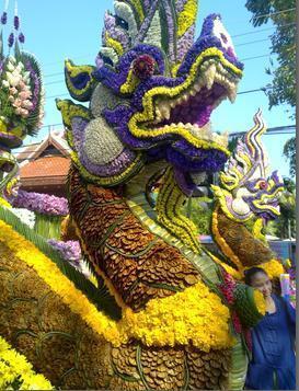 Chiang Maï (Thaïlande) Fête des fleurs 2010