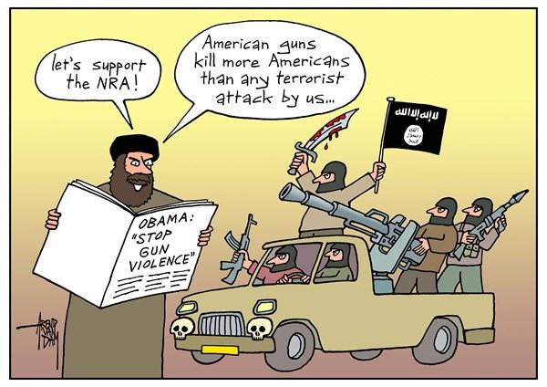 Les armes US ont tué plus d'américains que les terroristes !