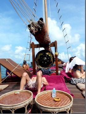 La jonque Chantara : tout le charme de la marine à voile, mais avec tout le confort !