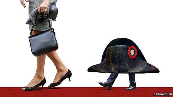"""Sarkozy, """"le président qui rétrécit"""""""