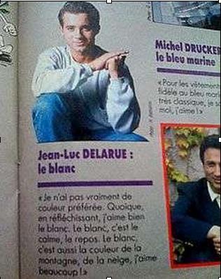 La couleur préférée de Jean-Luc Delarue