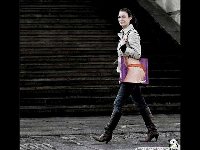 Habillez vous, ou déshabillez vous...avec un sac !