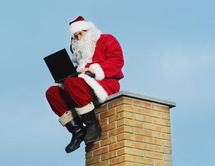 Le père Noël est arrivé chez Orange !