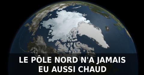 Record absolu : 31° au delà du cercle arctique !
