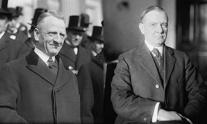 Carter Glass et Henry B. Steagall