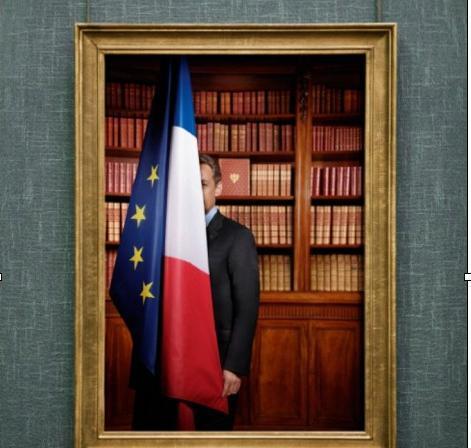 Ce n'est pas Sarkozy, c'est le drapeau qui a honte.