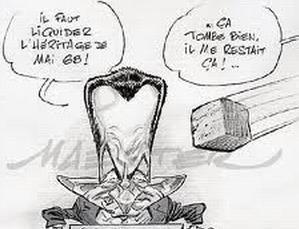 Après EDF, la SNCF et France Télécom, l'Education nationale