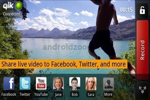 La visiophonie sur mobile universelle existe : Qik video connect