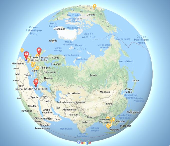 Plus de 4 millions de vues sur Google Maps !