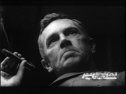 Le militaire du film Dr Folamour qui lance l'attaque nucléaire