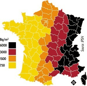 Contamination France après Tchernobyl