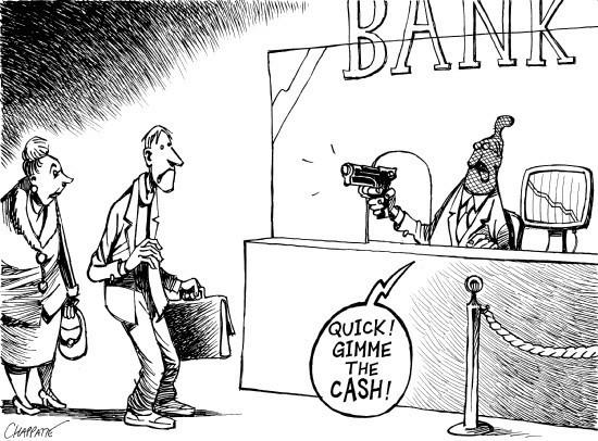 Donnez moi le cash, vite !