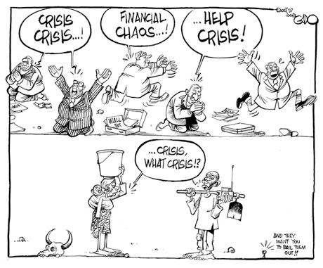 Avec la dette on nous prend pour des c...