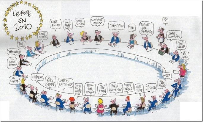 Les problèmes de l'Europe en 2 dessins