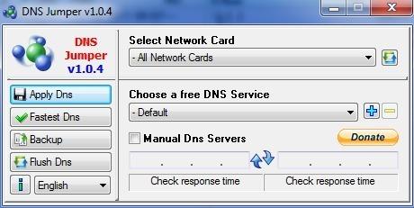 Accélérer votre accès à Internet, en deux clics de souris, grâce à Dnsjumper