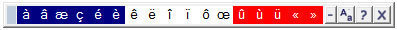 Lexibar : les caractères accentués enfin accessibles sur un clavier Qwerty !