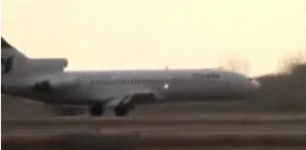 A quoi sert un train d'atterrissage, lors d'un atterrissage, sur un gros avion ?