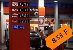Les prix de 2011... en anciens francs