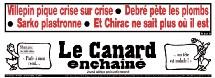 La rivalité Sarkozy-Villepin entrave la sortie de crise