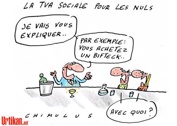 TVA Sociale : La dernière escroquerie intellectuelle de Sarkozy