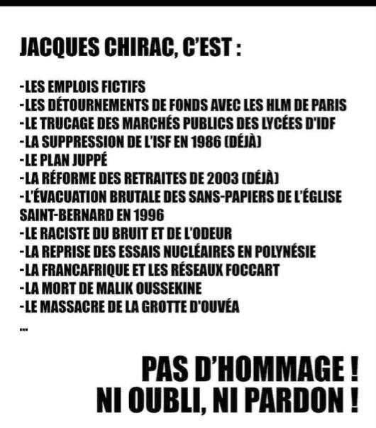 Les français ont la mémoire courte !