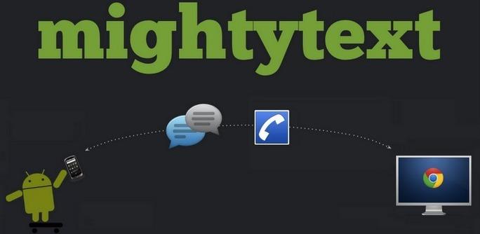 Envoyer des sms depuis son ordinateur avec Mighty Text (Android)