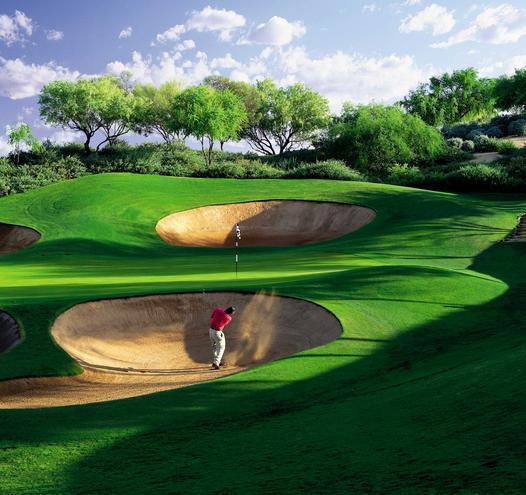 Les artistes du golf